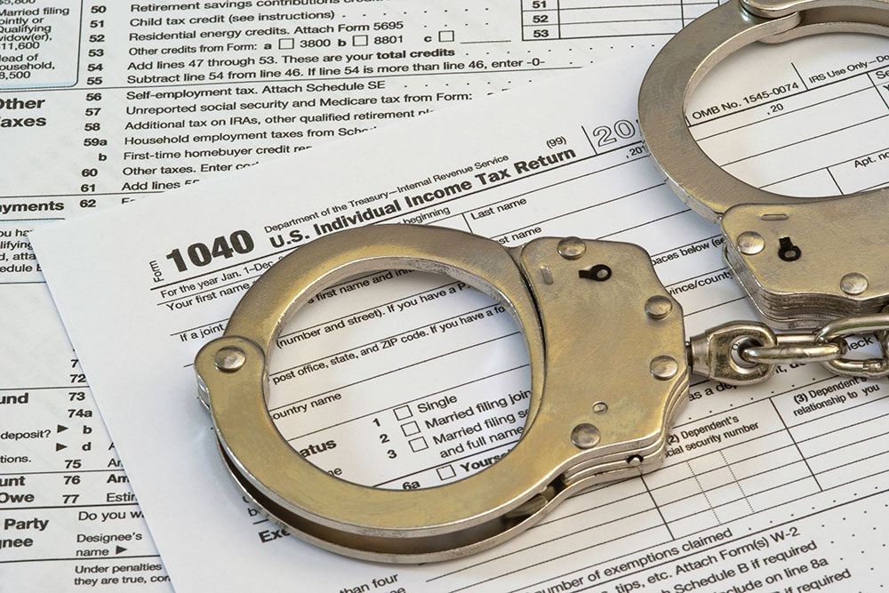 Jail For IRS Taxes